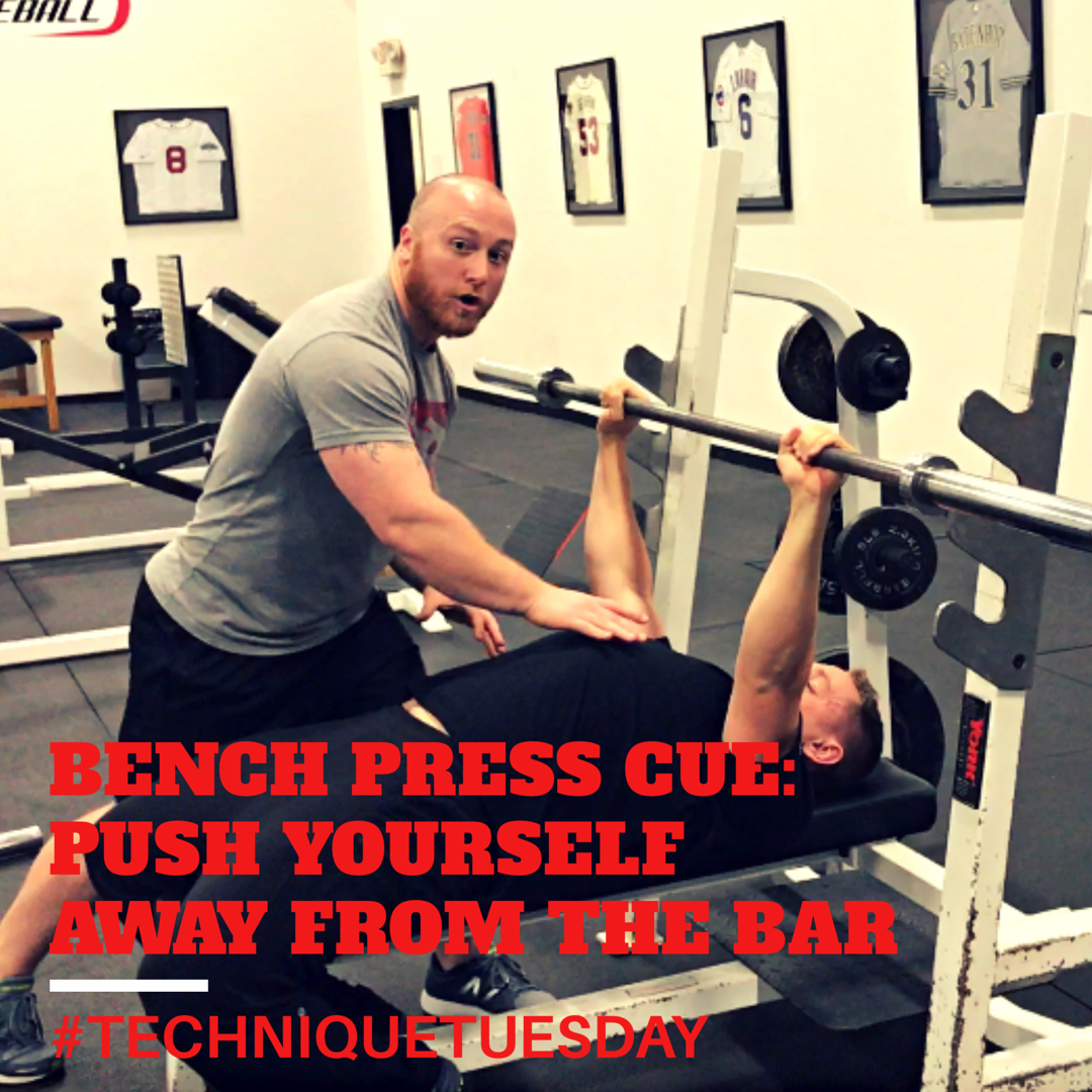 Technique Tuesday Scapular Position During Pressing: Technique Tuesday: Push Yourself Away From The Bar