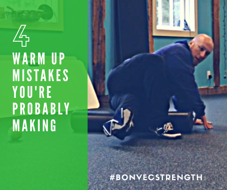 4 Warm Up Mistakes You're Probably Making